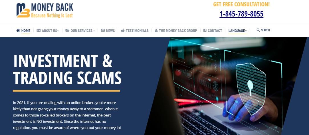 Money-Back.com trading platform