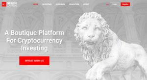 Neuer Capital website