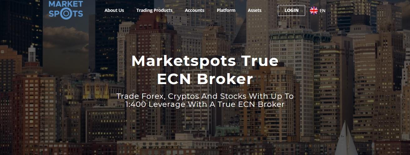 MarketSpots website