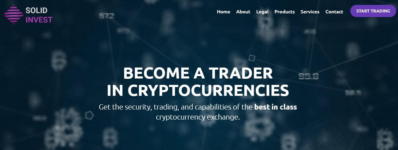 Solid Invest trading platform