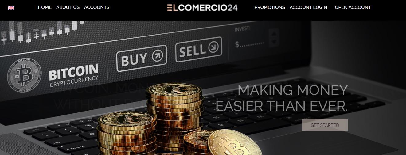 Elcomercio24 trading platform