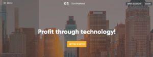 GlareMarkets website