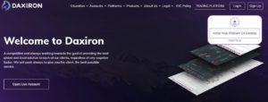 Daxiron website