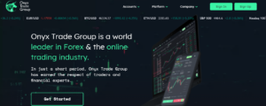 Onyx Trade Group website
