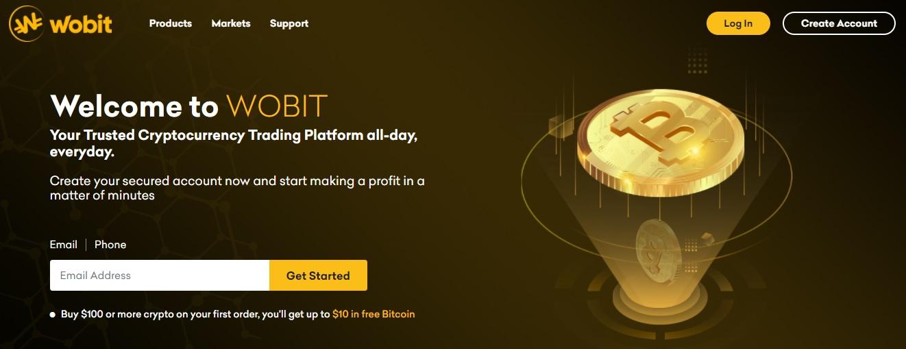 Wobit trading platform