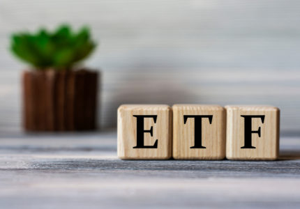 Etf,(exchance,Traded,Fund),-,Acronym,On,Wooden,Cubes,Against
