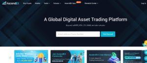 AscendEX website
