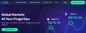 GlobalTrading26 website