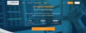 AF Capital Markets website